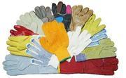 Рукавицы, перчатки, каски, защитные очки и пояса монтажные