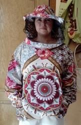Куртка пчеловода поликоттон с маской Класик