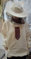Куртка пасічника вишиванка з маскою Класика